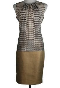 Calvin Klein top, M, $39, $12, Calvin Klein skirt, 6, $79, $20