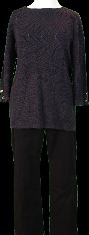 Charter Club Sweater, NYDJ Pants – Original Retail: $207, CWS: $48