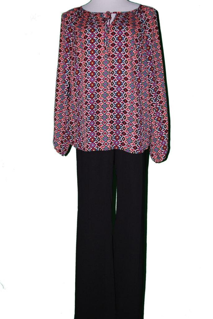 Stash top, L, $34, $12, Calvin Klein pants, 10, $89, $20