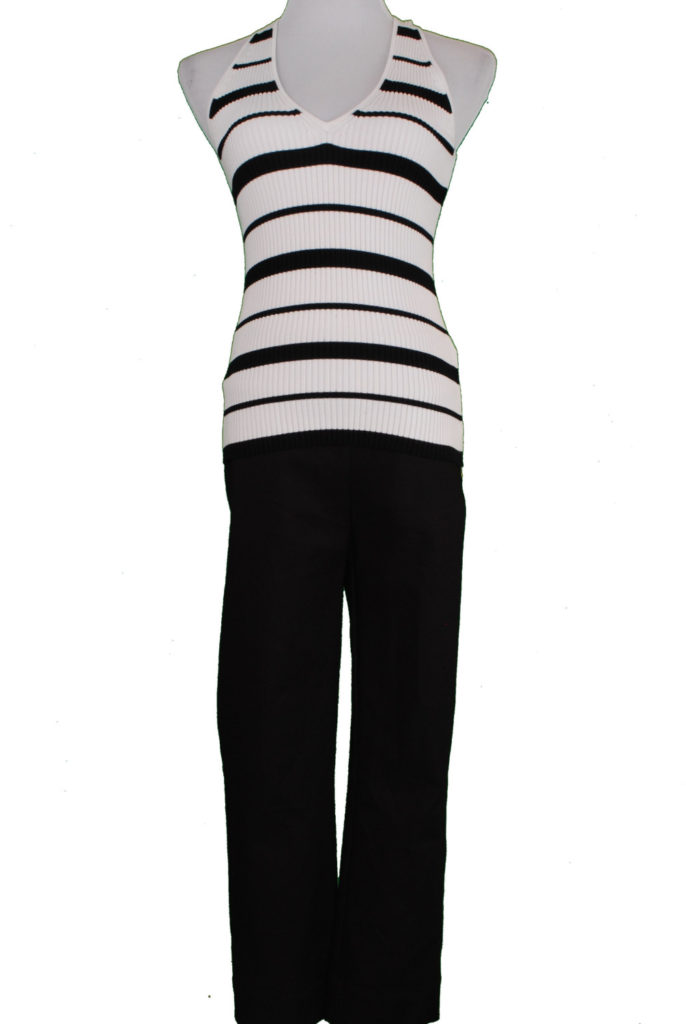 INC top, M, $49.50, $12, INC pants, 4, $69.50, $15