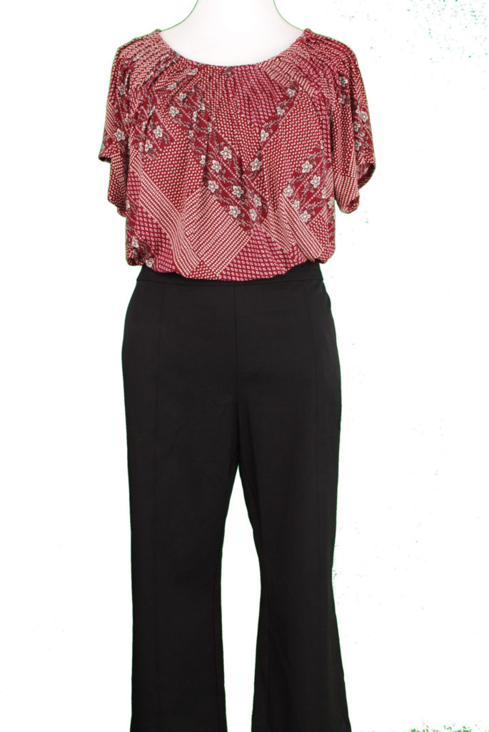 Style & Co top, XXL, $19.98, $5, INC pants, 16, $69.50, $15