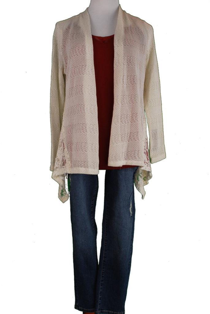 Style&Co sweater, M, $49, $12, INC tank, L, $39, $12, Earl jeans, 8, $54, $15
