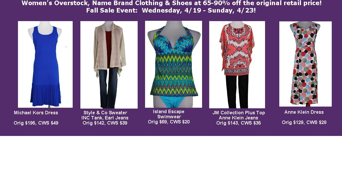 Win $50 Charlotte Warehouse Sale Shopping $!!!