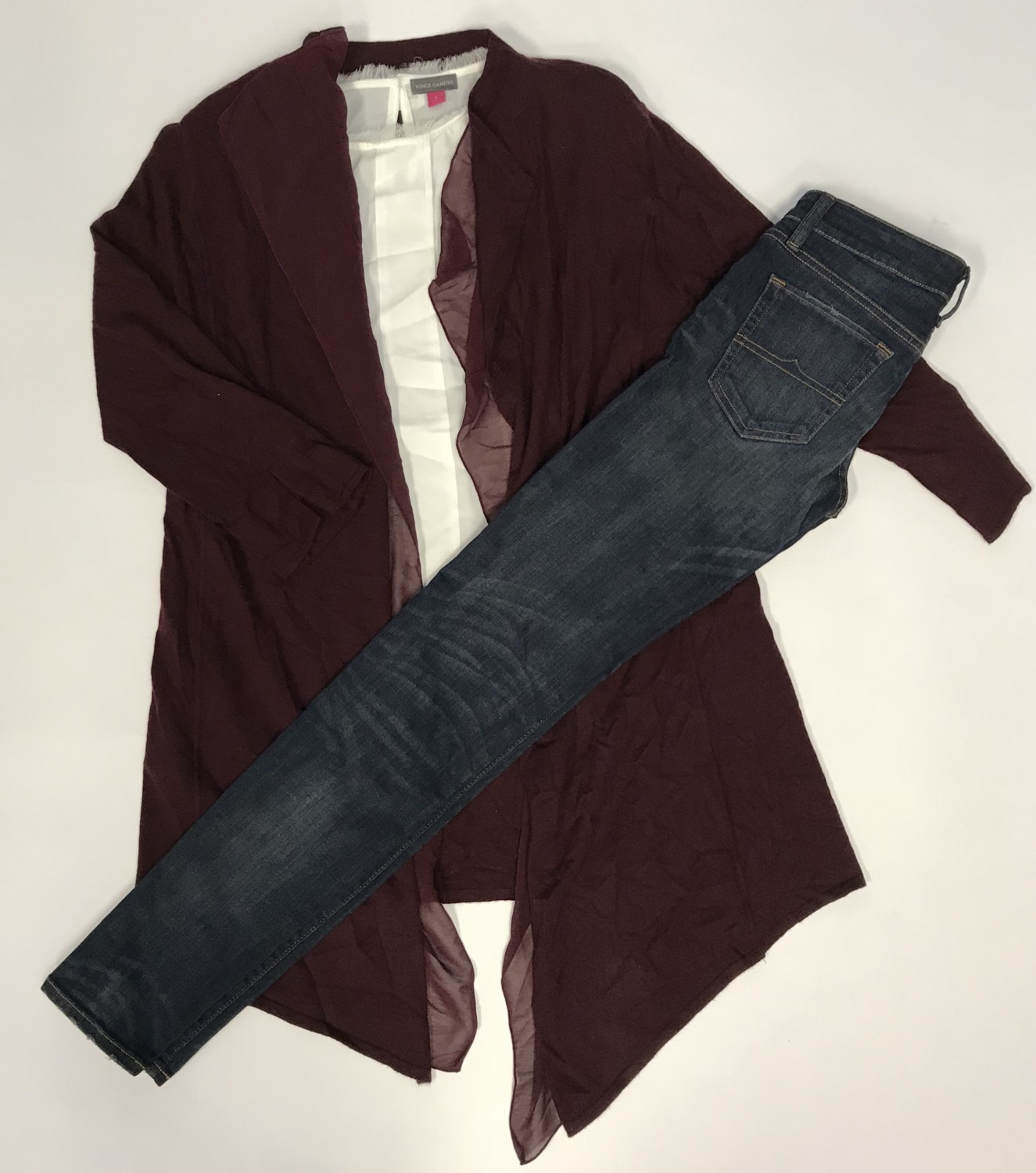 Vince Camuto Sleeveless, Anne Klein Sweater – Original Retail: $208, CWS: $48