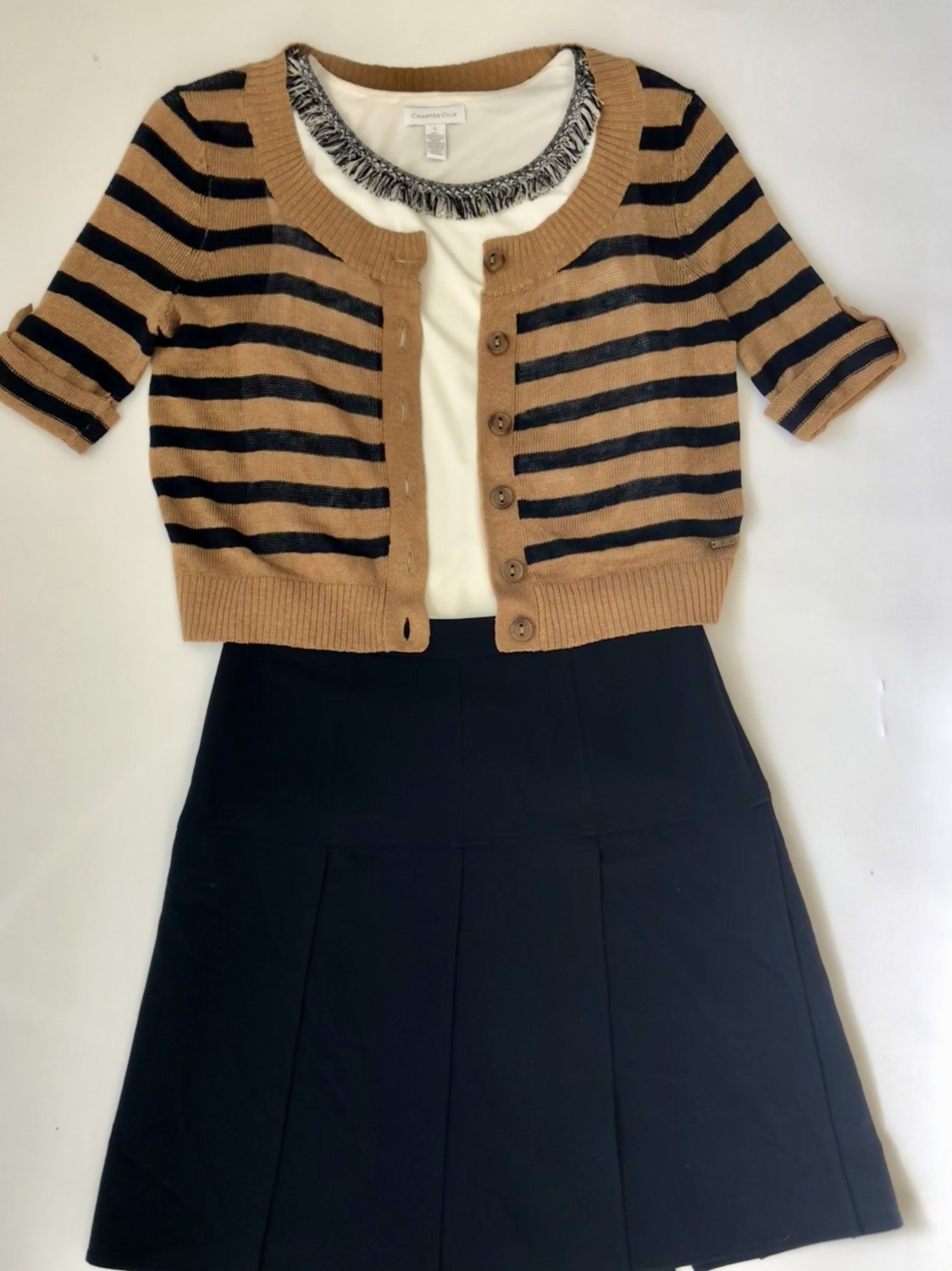 Charter Club Top, Tommy Hilfiger Sweater – Original Retail: $128, CWS: $30, Liquidation: $7.50