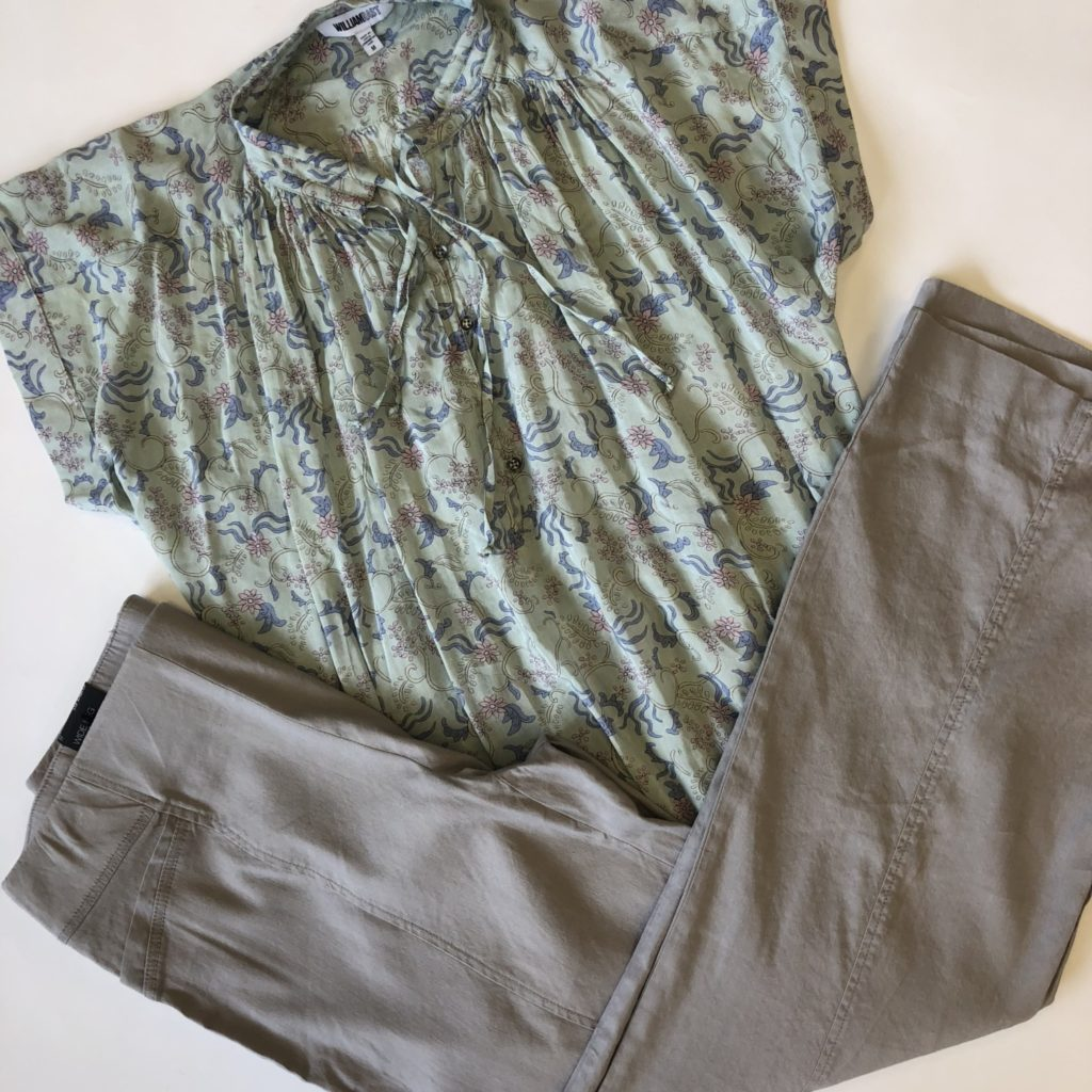 WilliamRast top, M, $69.50, $15, INC pants, 8, $69.50, $15 (1)