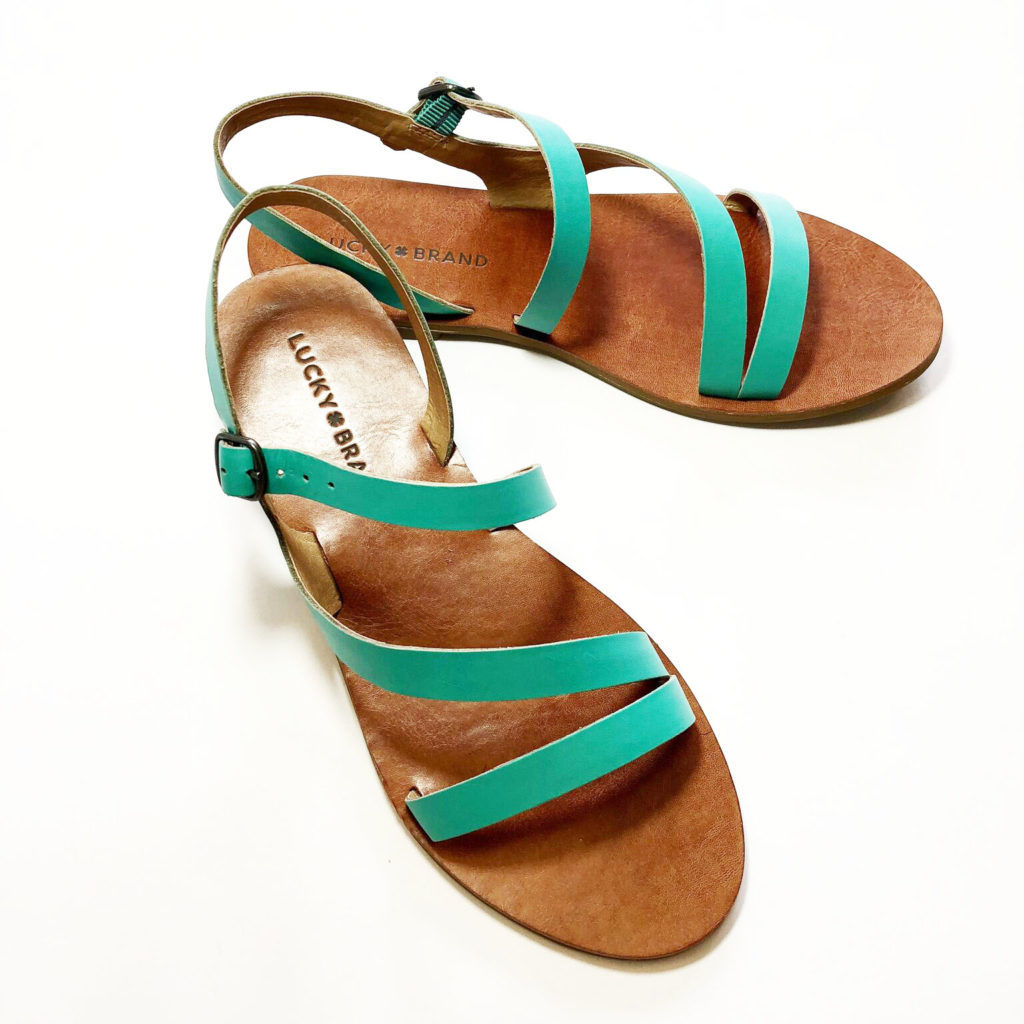 Lucky Brand Sandals teal