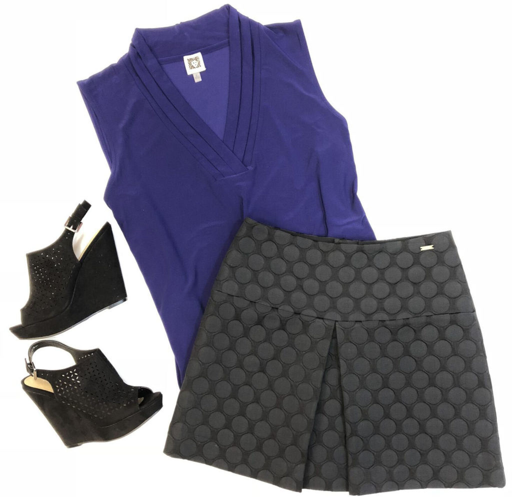 Armani Exchange skirt,10,$94.50,$20,Anne Klein top…,6.5,$69,$25-2