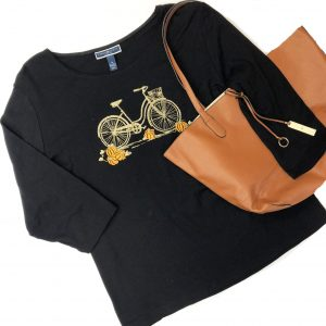 Karen Scott Top – Original Retail: $39, CWS: $12
