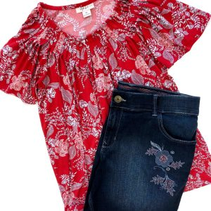 Style & Co Top, Lee Shorts – Original Retail: $79, CWS: $23